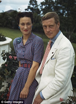 When the couple (pictured) first started their relationship in 1933,  it was at this luxurious apartment in Bryanston Court on George Street where the couple would meet