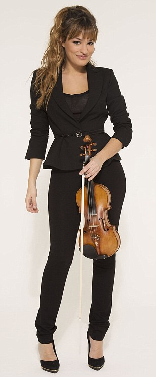 Nicola Benedetti reveals how duets with cellist lover have to stop by 10pm