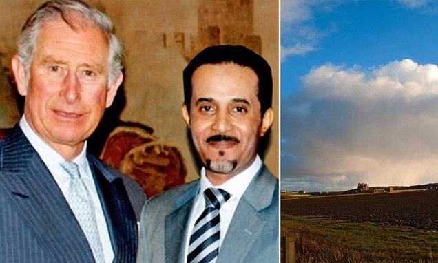 Woodland at Royal castle in Scottish Highlands renamed for Saudi millionaire
