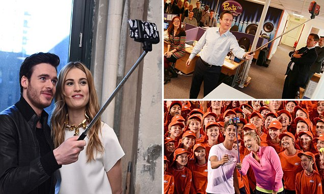 How to get a FREE selfie stick with The Mail on Sunday