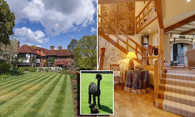 The £5 million country pile complete with its own herd of alpacas