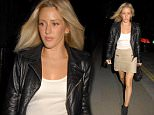Celebrities at the Chiltern Firehouse  Pictured: Ellie Goulding Ref: SPL1073227  090715   Picture by: Splash News  Splash News and Pictures Los Angeles: 310-821-2666 New York: 212-619-2666 London: 870-934-2666 photodesk@splashnews.com