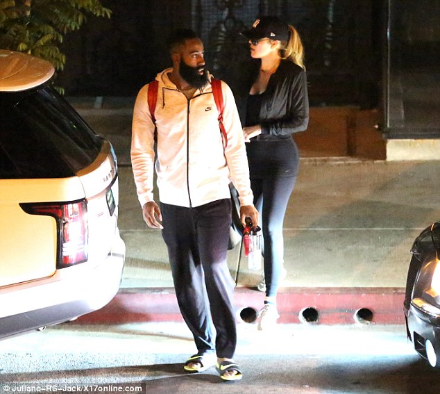 Tactile: Before heading to a nightclub together on Saturday, the two enjoyed another intimate dinner, where an onlooker who spotted the couple told TMZ the pair were 'snuggling side by side' during their meal