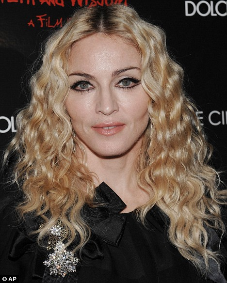 Singer Madonna, who directed the film, attends a Cinema Society and Dolce Gabbana hosted special screening of 'Filth and Wisdom' on Monday, Oct.13, 2008