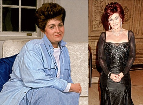 The XL Factor: Sharon Osbourne before and after