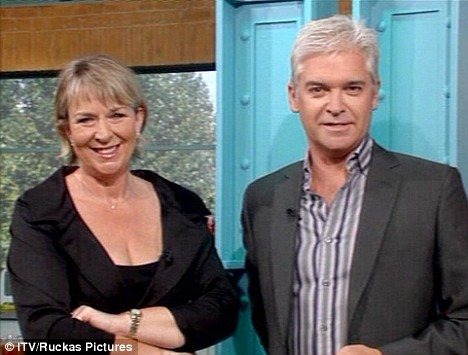 Fern Britton on This Morning last month  looking slimmer