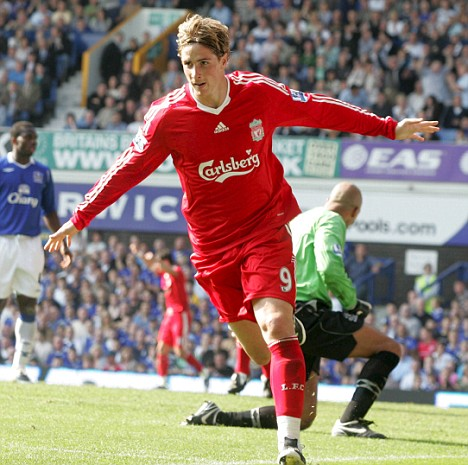 Spanish flyer: But it may be a while before Liverpool fans see Torres back to his brilliant best