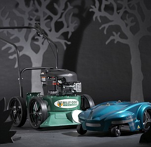 lawn vacuum and automatic mower