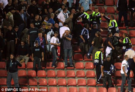 Marseille and Atletico Madrid riot