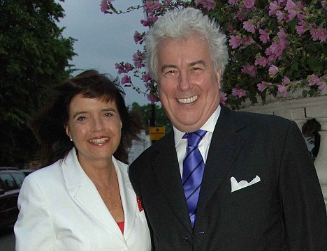 Ironic: Barbara Follett and her author husband Ken are known in Labour circles as 'Barbie and Ken' because of their Christian names