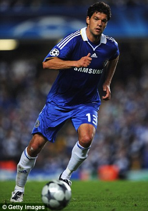 Ballack wants to stay at Chelsea