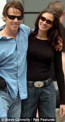 Daniel Moder and Julia Roberts