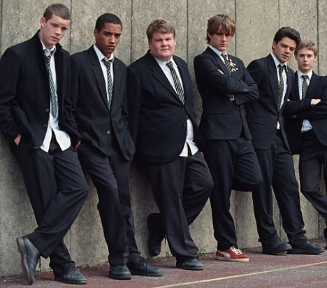 Russell Tovey as RUDGE, Samuel Anderson as CROWTHER, James Corden as TIMMS, Andrew Knott as LOCKWOOD, Dominic Cooper as DAKIN, Samuel Barnett as POSNER History Boys