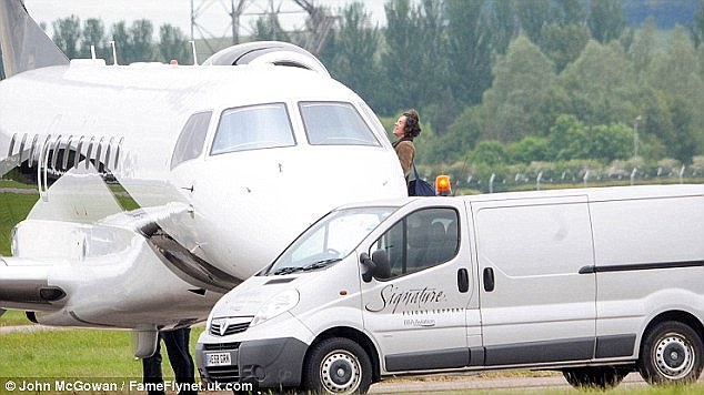 Carbon-burning: Last May, after performing at Radio 1's Big Weekend, Harry Styles and Niall Horan, both 21, boarded one plane, while Liam Payne, 21, Zayn Malik, 22, and Louis Tomlinson, 23, all boarded another