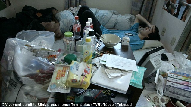 Sufferers of 'Hikikomori' have such severe social withdrawal they isolate themselves in their bedroom