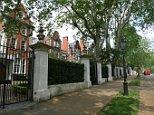 Kensington Palace Gardens. Photographed Wednesday, 21 May 2008. Ph: Rebecca Reid