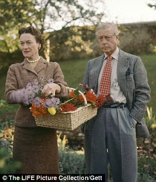 True love: The couple together in 1953
