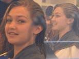 Model Gigi Hadid is seen having her hair done before meeting friends in SoHo, NY.  Pictured: Gigi Hadid  Ref: SPL1076015  100715   Picture by: @JDH Imagez  / Splash News  Splash News and Pictures Los Angeles: 310-821-2666 New York: 212-619-2666 London: 870-934-2666 photodesk@splashnews.com