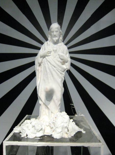 Complaint: Terence Koh's statue of Christ