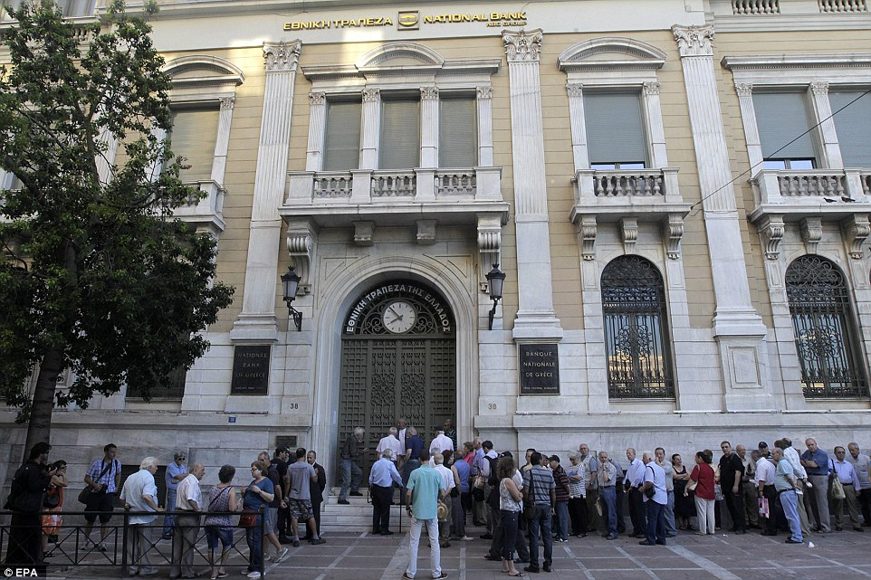 Greece's financial system has been at the heart of the current crisis, haemorrhaging deposits as relations between the radical left-wing government of Prime Minister Alexis Tsipras and creditors worsened