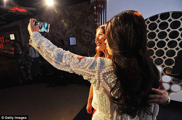 Snap happy: Fans can finally get a chance to have their snap taken by Kim