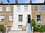 An exterior view of a four bedroom house in East Finchley, London for £800,000.
