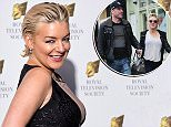 Sheridan Smith attends the RTS Programme Awards and boyfriend puff.JPG