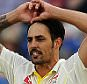Ashes 1st Test. Cardiff. England v Australia. day 3 10/06/15: Kevin Quigley/Daily Mail/Solo Syndication Mitchell Johnson