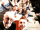 nerdistI mean this HAS to be some kind of damn record. Most superheroes on one selfie? Casts of Wolverine, X-Men, Deadpool and Fantastic Four PLUS the Generalissimo!!! @20thCenturyFoxPanel #sdcc2015 #HallH #sdccDiarywick