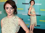 SAN DIEGO, CA - JULY 11:  Actress Maisie Williams attends Entertainment Weekly's Annual Comic-Con Party in celebration of Comic-Con 2015 at FLOAT at The Hard Rock Hotel on July 11, 2015 in San Diego, California.  (Photo by John Shearer/Getty Images for Entertainment Weekly)