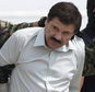 """FILE - In this Feb. 22, 2014, file photo, Joaquin """"El Chapo"""" Guzman, head of Mexico¿s Sinaloa Cartel, is escorted to a helicopter in Mexico City, following his capture overnight in the beach resort town of Mazatlan. Mexico¿s security commission said in a statement late Saturday, July 11, 2015, the top drug lord Joaquin ¿El Chapo¿ Guzman has escaped from a maximum security prison, the second time he has fled after being captured. (AP Photo/Eduardo Verdugo, File)"""