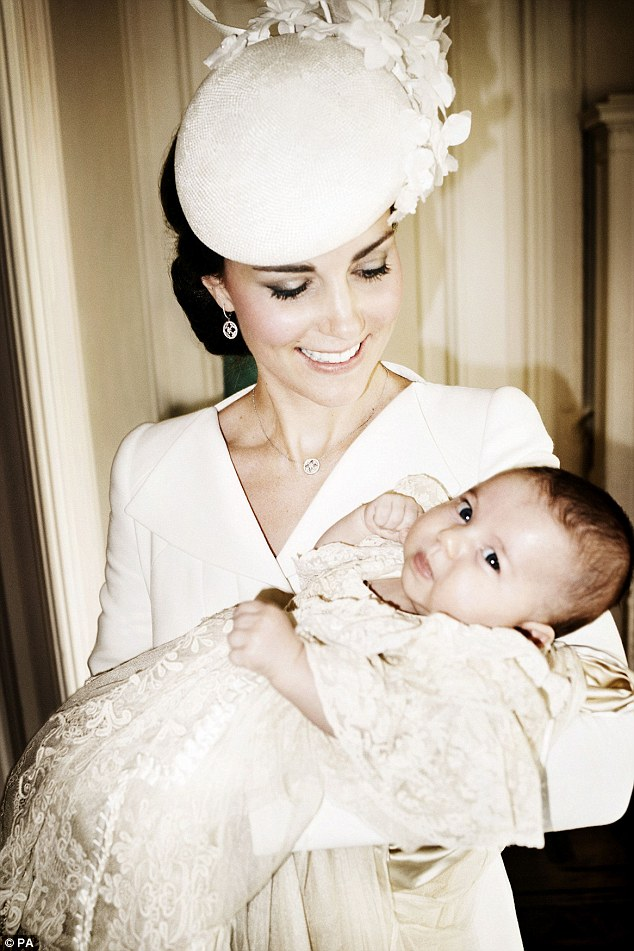 Kate with her daughter Charlotte