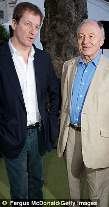 Alistair Campbell and Ken Livingstone