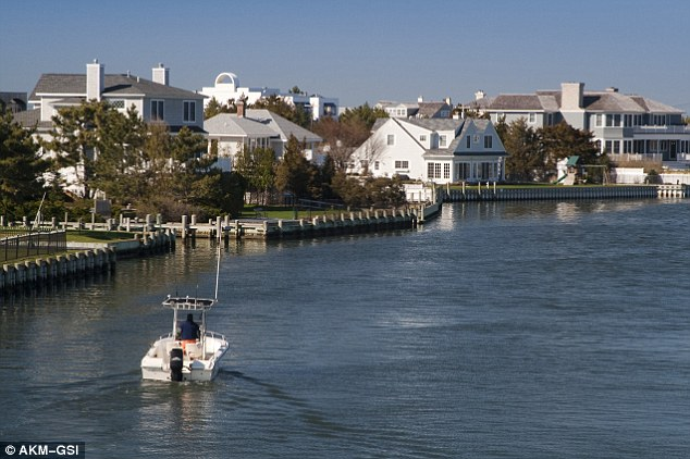 Time to relax: The boy said his weekend trips to the Hamptons (pictured) are the perfectperfect 'escape from Manhattan'