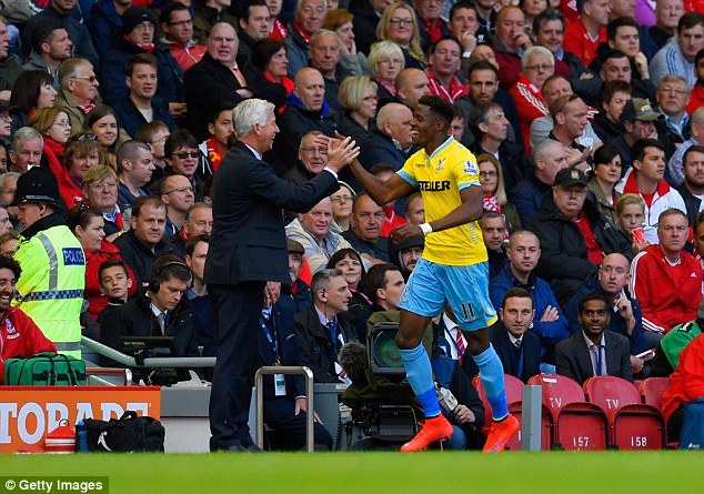 Players like Wilfried Zaha feel comfortable in a Palace shirt because they've been with them all their lives