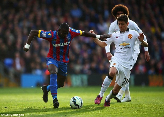 Yannick Bolasie (left) has the speed and trickery on the flanks that few Premier League clubs can match
