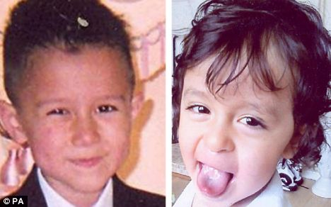 Ashok Kalyanjee admitted murdering Paul Ross (left), 6, and his brother Jay, 2