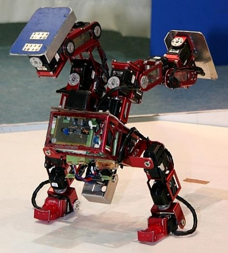 This breakdancing robot can help children learn about maths, geometry and physics