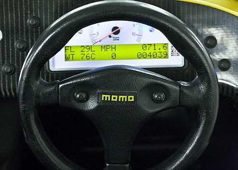 Detachable Momo steering wheel
