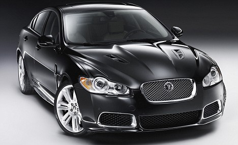 Jaguar's XFR sports saloon
