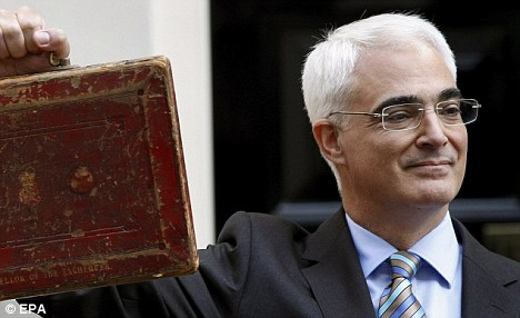 Darling's budget leaves a black hole costing £2,800 per family per year for 10 years