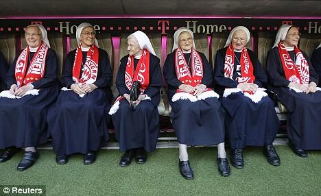 Nuns who support Bayern Munich