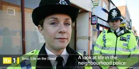 The ITV1 show Beat: Life On The Street show, above, was part-funded by the Government