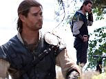 Chris Hemsworth filming the Huntsman in Surrey\nFeaturing: Chris Hemsworth\nWhere: Oxford, United Kingdom\nWhen: 12 Jul 2015\nCredit: David Sims/WENN.com