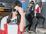 Picture Shows: Kendall Jenner  July 12, 2015\n \n Reality television stars Kris and Kendall Jenner arrive at Heathrow Airport in London, England.\n \n The mother and daughter duo chose vastly different outfits, with mother Kris in an eye-catching camo ensemble that included multi-coloured splat prints; whereas Kendall opted for a more reserved approach.\n \n Non Exclusive\n WORLDWIDE RIGHTS\n \n Pictures by : FameFlynet UK © 2015\n Tel : +44 (0)20 3551 5049\n Email : info@fameflynet.uk.com