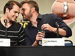ben affleck henry cavill comic con wedding ring