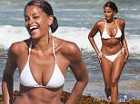 Picture Shows: Claudia Jordan  July 10, 2015\n \n 'The Real Housewives of Atlanta' star Claudia Jordan and her model friend Aisha Thalia hit the beach in Miami, Florida on July 10, 2015. Rumors have been swirling for weeks that Claudia Jordan was axed from 'RHOA' after just one season on the show.\n \n Non Exclusive\n UK RIGHTS ONLY\n \n Pictures by : FameFlynet UK © 2015\n Tel : +44 (0)20 3551 5049\n Email : info@fameflynet.uk.com