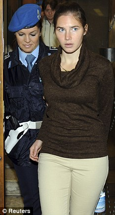 Amanda Knox's solicitor claims women police 'had it in' for her because they found condoms and a vibrator in her beauty case