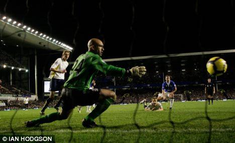 Dawson scores the second goal