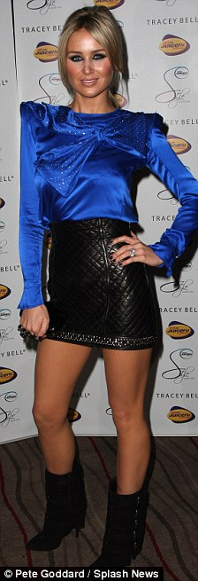 Alex Curran Liverpool Style Awards 2009